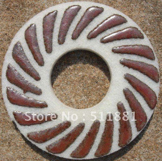 9 ''NCCTEC влажная полировальная Подложка для губки для бетон, мрамор, гранит | 225 мм Алмазная губка