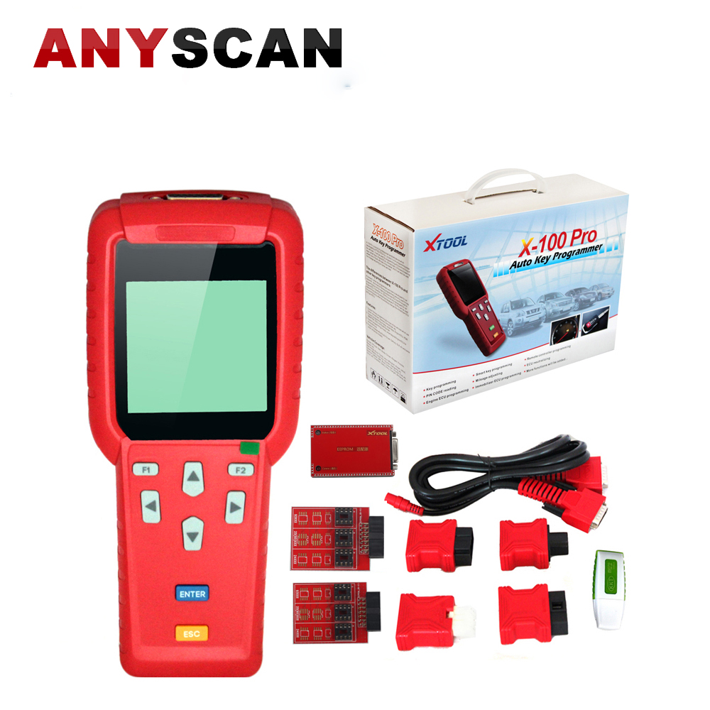Original XTOOL X100 PRO Auto Key Programmer X 100+ X 100 PRO Immo Programmer Support Toyota G Chip with EEPROM Adapter