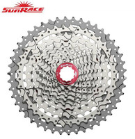 SunRace CSMX3 CSMS3 10 speed 11 46T Cassette Bike Freewheel Sprocket Mountain Bike Cassette Bicycle Parts 10 speed 11 46T