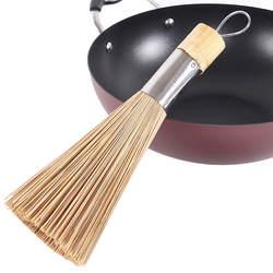 28 см кухонная бамбуковая щетка венчик традиционные Натуральные Бамбуковые чистящие щетки для мытья посуды кухонная утварь 1108