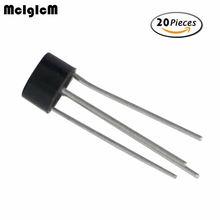 MCIGICM 20 шт 2w10 2A 1000 В диодный мостовой выпрямитель 2w10