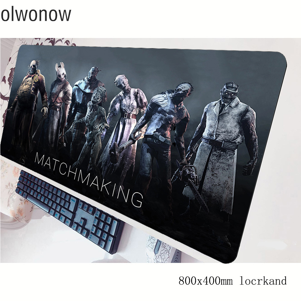 Dead By Daylight Mouse Pad Gamer 80x40cm Gaming Mousepad Christmas Notbook Desk Mat Gifts Padmouse Games Pc Gamer Mats Gamepad