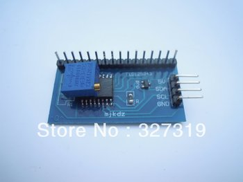 1pcs IIC/I2C/TWI/SPI serial interface board module 5v for 1602 lcd display enc28j60 ethernet board controller connect mcu to ethernet network spi serial interface board module
