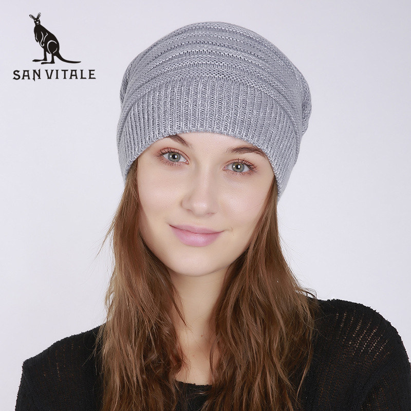 Women'S   Skullies     Beanies   Hats Winter Warm Hats Palestine Caps Gift Rick And Morty Fur Luxury Brand Cashmere Plaid Ski Mask Skull
