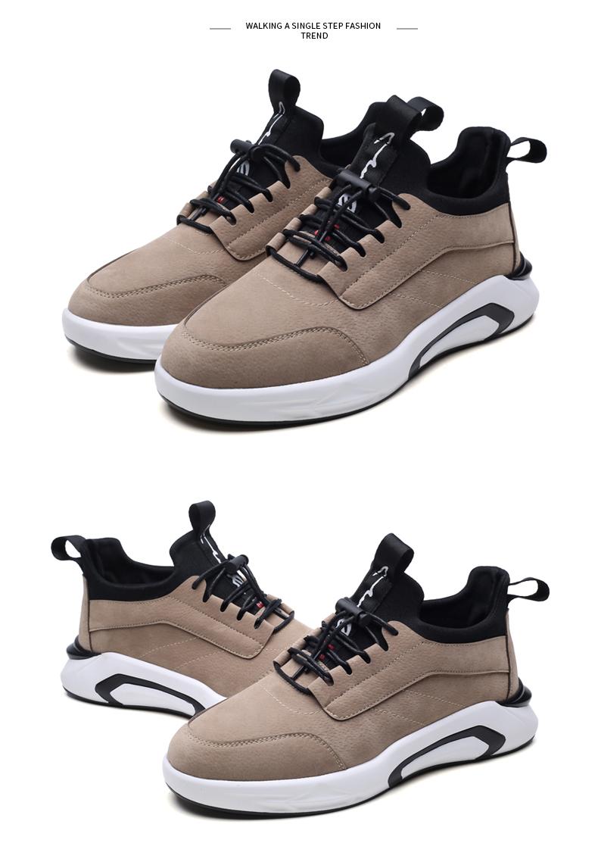 2018 Spring/Autumn Men's Vulcanize Shoes Fashion Sneakers Men Casual Shoes Flats Men Shoes Chaussure Homme Designer Sneakers 21