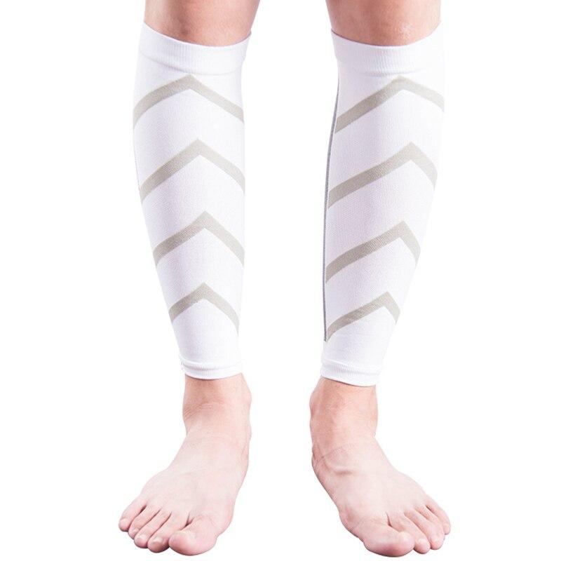 Fluorescence Candy Color Stripe Men Women Compression Socks Leg Pressure Unisex Calf Lower Leg Pressure Long Socks