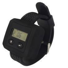 Tivdio 433.92 мГц беспроводной вызов системе подкачки часы приемник ожиданием пейджер для отеля больницы пейджер часы вызова F3228A
