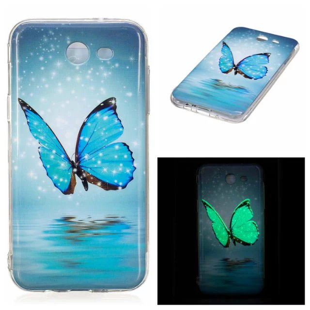 promo code d3023 7f4e5 US $3.19 |Luminous Soft TPU Silicone Back Cover Case For Samsung Galaxy J3  J36 J5 J7 2016 J310 J320 J510 J3 J5 J7 2017-in Fitted Cases from Cellphones  ...