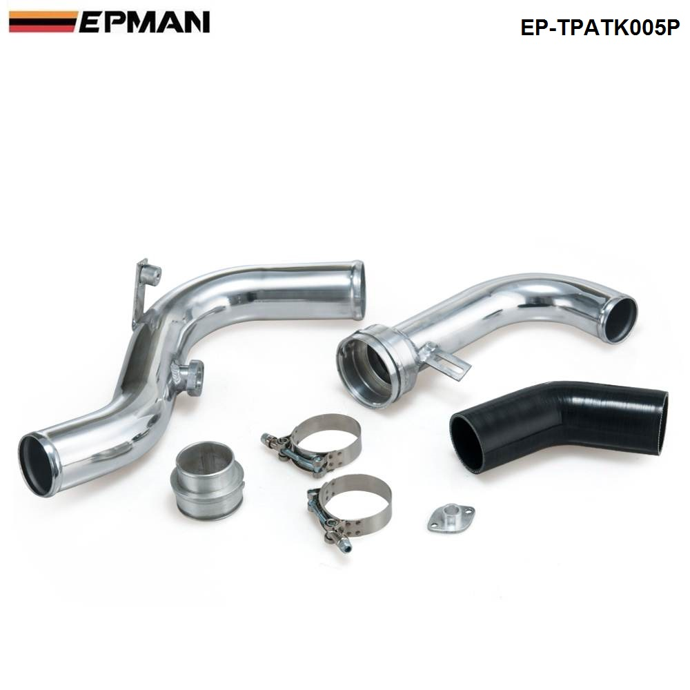For Volkswagen VW Golf GTI MK5/MK6 2.0T Turbo Piping Kits/Aluminium Boost Pipe EP-TPATK005P