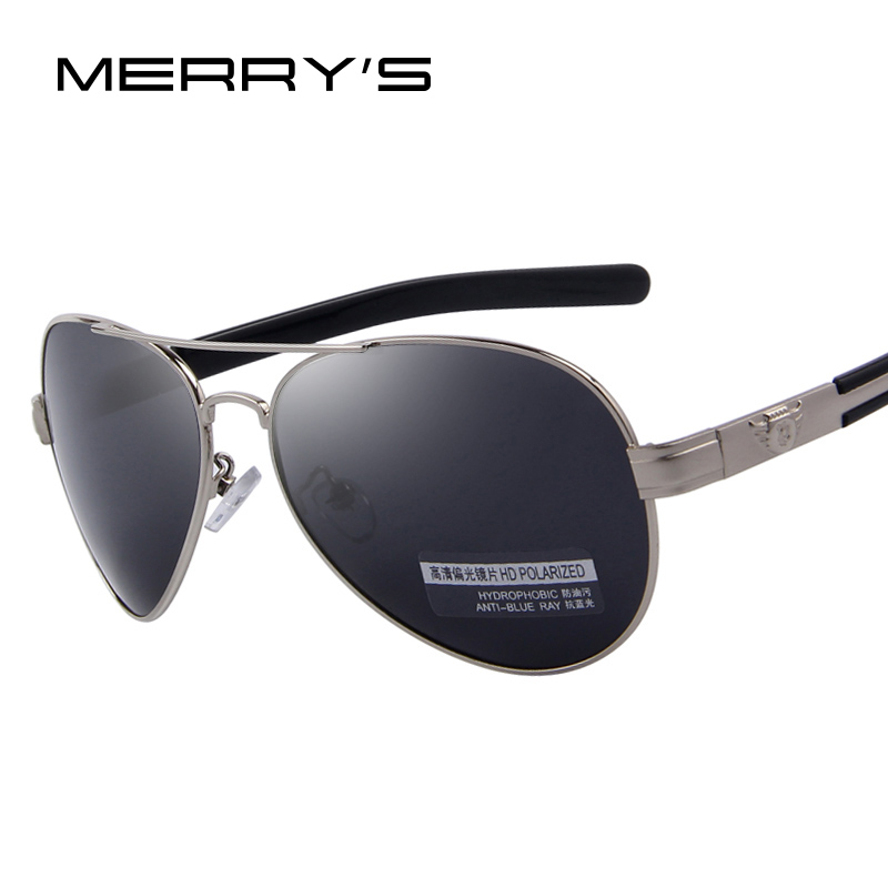 MERRY'S Fashion Men Polarized Sunglasses Brand Design Sunglasses Oculos de sol UV400