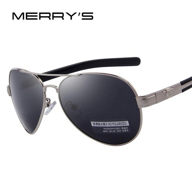 MERRY'S Fashion Men Polarized Sunglasses Brand Design Sunglasses Oculos de sol UV400