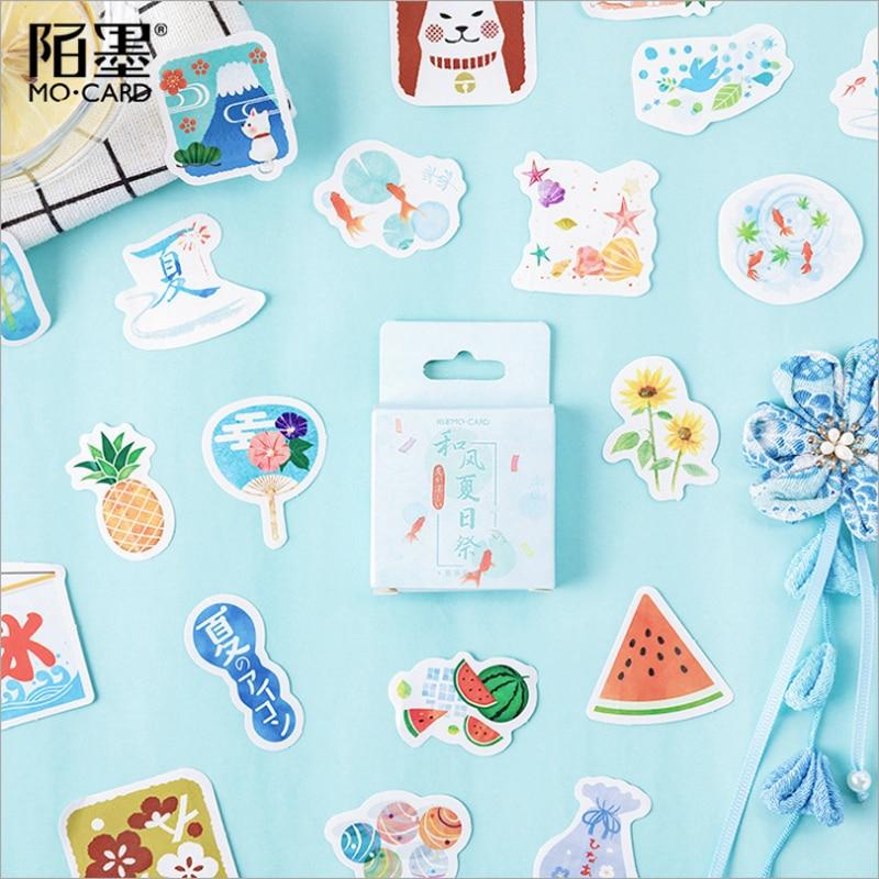 46 pcs/lot Momo Japanese summer fruit paper sticker decoration stickers DIY ablum diary scrapbooking label sticker46 pcs/lot Momo Japanese summer fruit paper sticker decoration stickers DIY ablum diary scrapbooking label sticker
