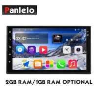 Panlelo Android 8 Car Stereo S10/S10 Plus 2GB/1GB RAM 32/16GB ROM GPS Navigation Multimedia Player Auto Radio AM/FM/RDS BT Music