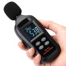Измеритель уровня шума UA961 черный портативный цифровой измеритель уровня шума Цифровой измеритель уровня звука