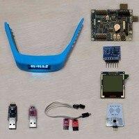 Fast Free Ship DA14580(open source programmable+development board)set six/bracelet accessories (watch/bracelet accessories) DIY