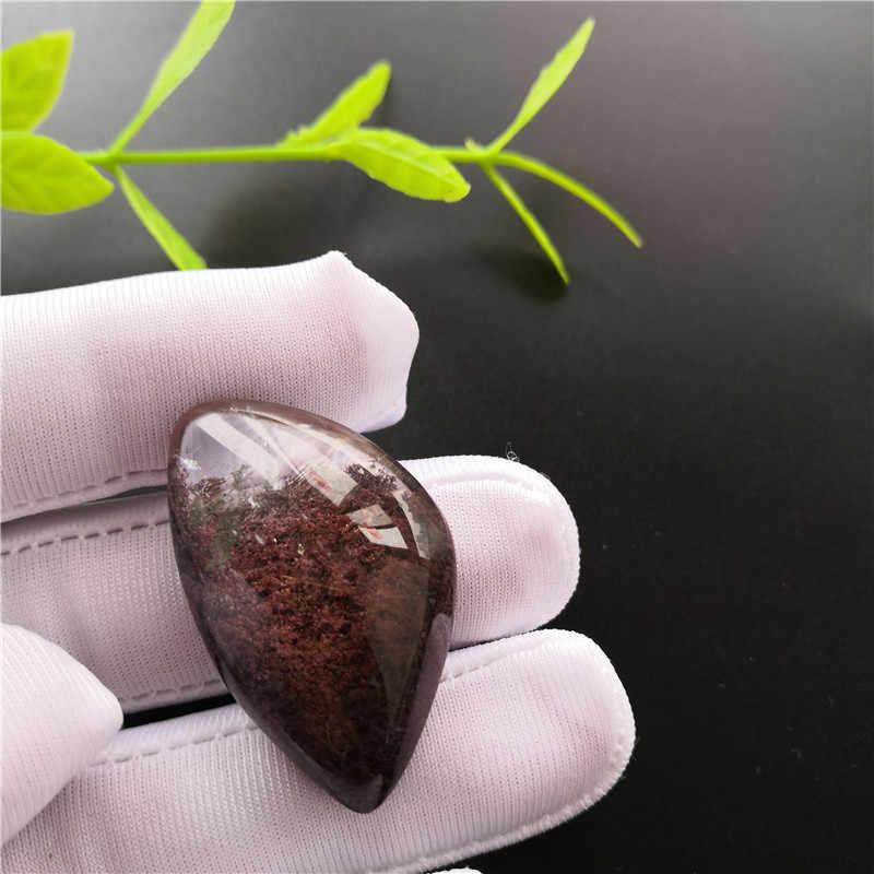 Натуральный фантомный кристалл кварца с камнем образец драгоценного камня