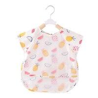 Newborns Baby Bib Burp Clothes Set Feeding Eat Waterproof Bibs Art Apron