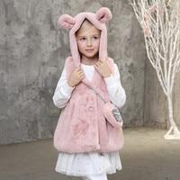 Winter Children Clothing Outerwear Coats Vest Infantil Girl Thicken Gilet Fille Brand Baby Jacket Waistcoat New Enfant
