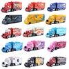 Disney Pixar Auto 3 Truck Koninkrijk Mike Green 82 Vrachtwagen Combinatie 1:55 Gegoten Metalen Legering Model Speelgoed Auto Kinderen's Gifts