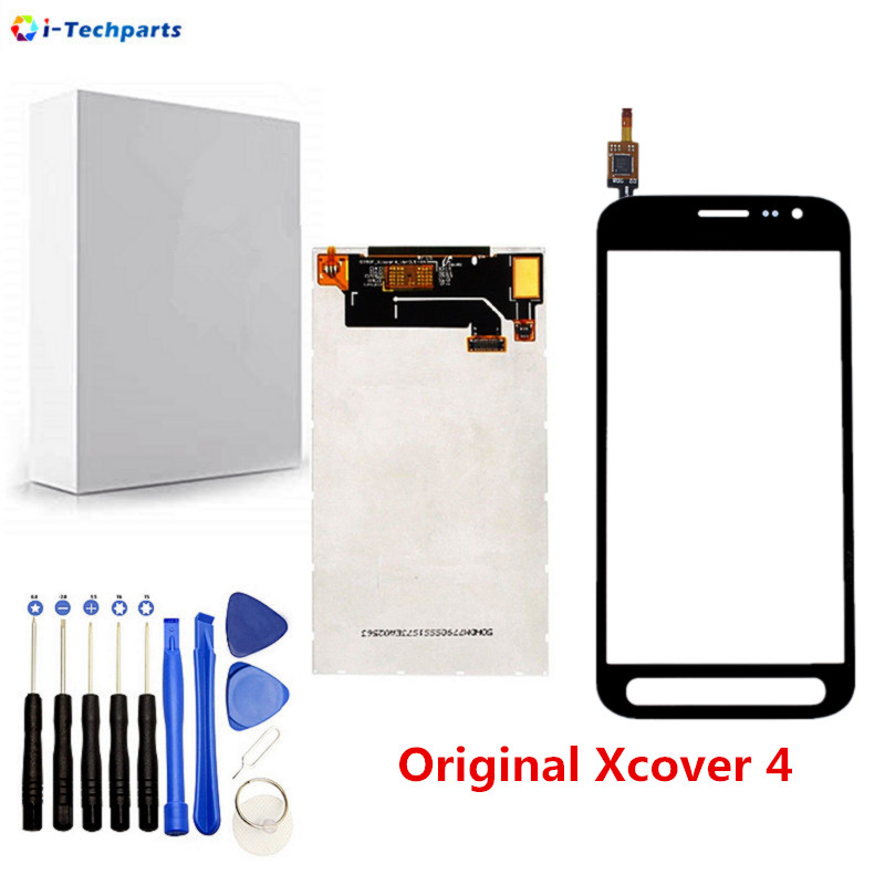 Free Shipping,Original LCD Display + Touch Screen Digitizer Sensor Front Glass Panel For Samsung Galaxy Xcover 4 SM G390,BlackFree Shipping,Original LCD Display + Touch Screen Digitizer Sensor Front Glass Panel For Samsung Galaxy Xcover 4 SM G390,Black