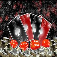 MR-1937 Poker Dice Casino Las Vegas Fotografia Foto de Fundo Pano de Fundo de Vinil