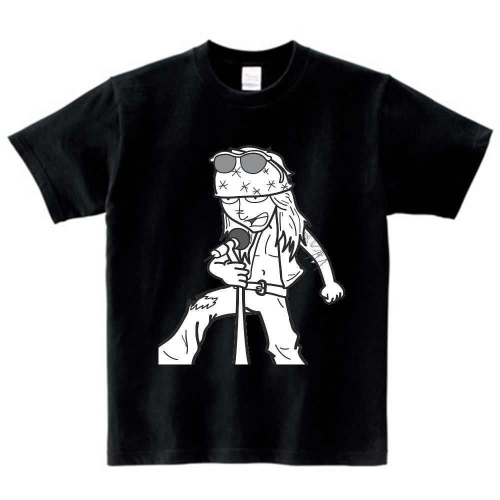 Kinderen 100% Puur katoen Guns N Roses Jongen Meisje 2018 Leisure T-shirt O Hals Kid Kleding T-shirt Baby t-shirt NN