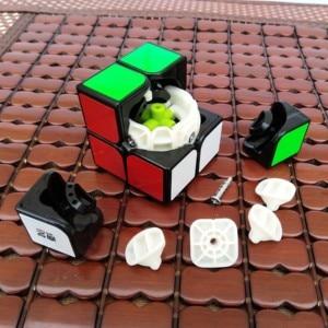 Image 5 - Qiyi 2X2 קסם קוביית 3x3 מקצועי Cubo Magico 2x2x2 מהירות קובייה כיס 3x3x3 פאזל קוביות צעצועים חינוכיים לילדים