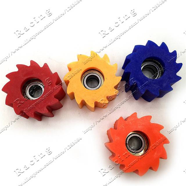 8mm 10mm Chain Roller Slider Tensioner Wheel Guide Pit Dirt Mini Bike Moto  Atv High Quality