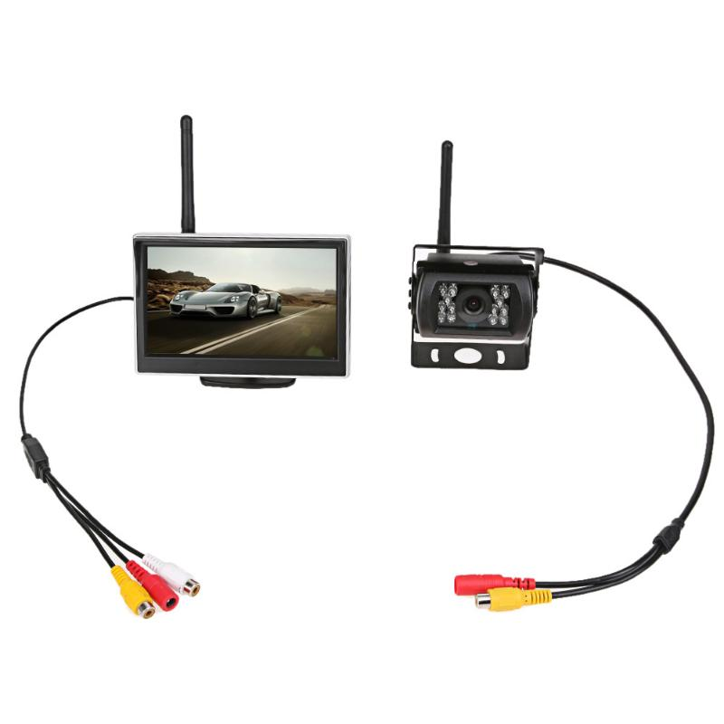 Universal 5 Inch TFT WiFi LCD Display Car Monitor Rear View Backup Reverse 18 5 inch g185xw01 v 1 g185xw01 v1 lcd display screens