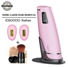 1050000times 3in1 IPL Laser Epilator Hair Removal LCD Display Machine Laser Permanent Bikini Trimmer Electric depilador laser