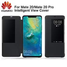 Huawei Authentic  Intelligent Protector Flip Case Leather Cover For Mate 20 Mate20 pro Mate20X Phone