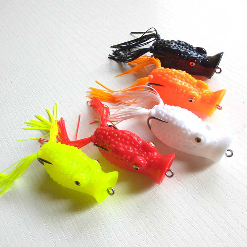 <font><b>Big</b></font> Month Frog Lure 6.5cm 17g Fishing <font><b>Soft</b></font> Lures New Pva 2019 <font><b>Bait</b></font> Quality Peche Leurre Souple 1 Piece/Lot image