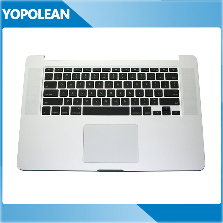 Brand New Top case Palmrest with US Keyboard and Trackpad For Macbook Pro Retina 15 A1398