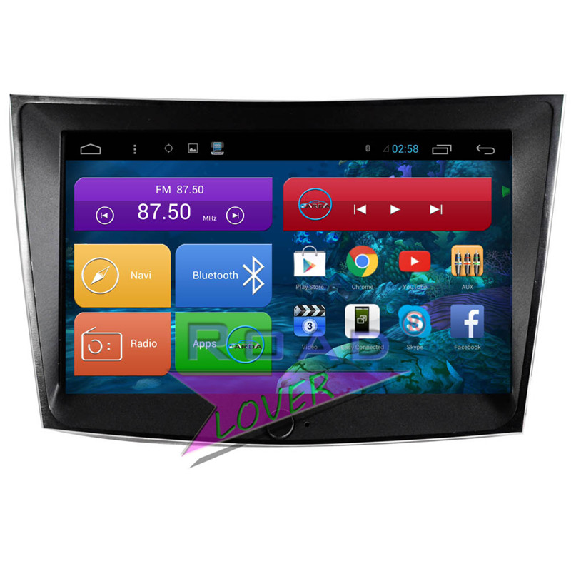 Roadlover Android 6 0 2G 16GB 9 Car GPS Navigation For Ssangyong Tivolan 2015 Stereo font