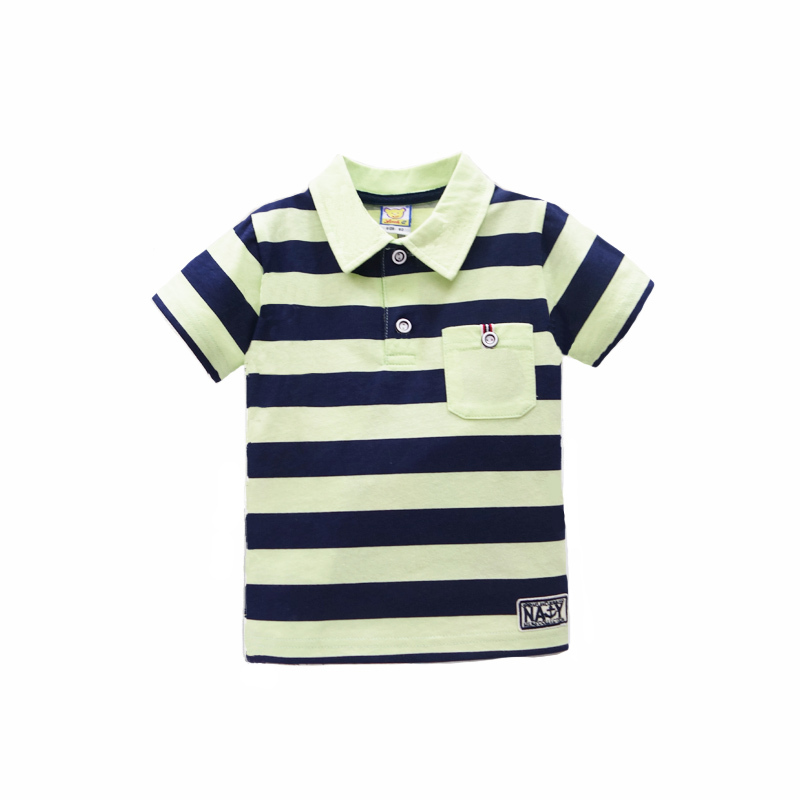2017-New-arrival-polo-t-shirt-baby-short-striped-for-boys-tops-pure-cotton-children-summer-clothing-Girls-Tee-3
