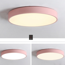 LED Ceiling Lamp 12W 18W Modern Acryl Alloy Round Thin LED Light Ceiling Lights LED Ceiling Lighting For Foyer Bedroom