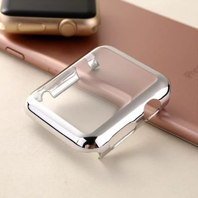 cover case For Apple Watch band apple watch 5 4 3 Case 44mm 40mm strap iwatch band 42mm/38mm screen protector watch Accessories 4