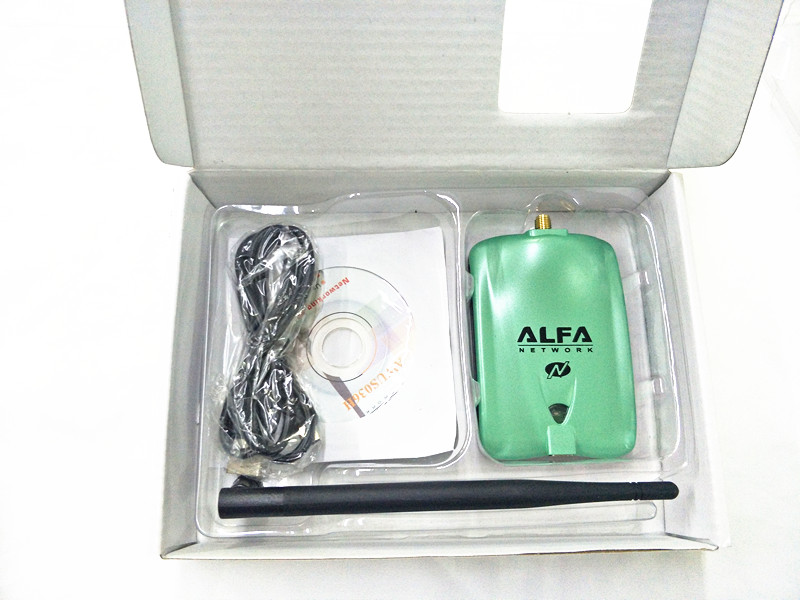 Alfa USB AWUS036NH Ralink 3070L Chipset 2000mW Wireless N USB Wifi Adapter 150Mbps Wireless USB Wifi Network Card 1Pc Per Set