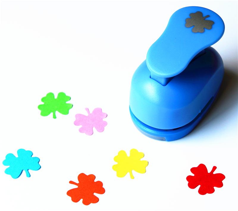 1 Inch Leaf Design Eva Foam Punch Paper Punches Scrapbooking Cutter Hole Punch Craft Punching For DIY Artwork