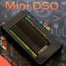 цена на DSO213 Oscilloscope Mini DSO Pocket Size Digital USB Handheld Oscilloscopes Kit Analog Bandwidth Osciloscopio DSO213