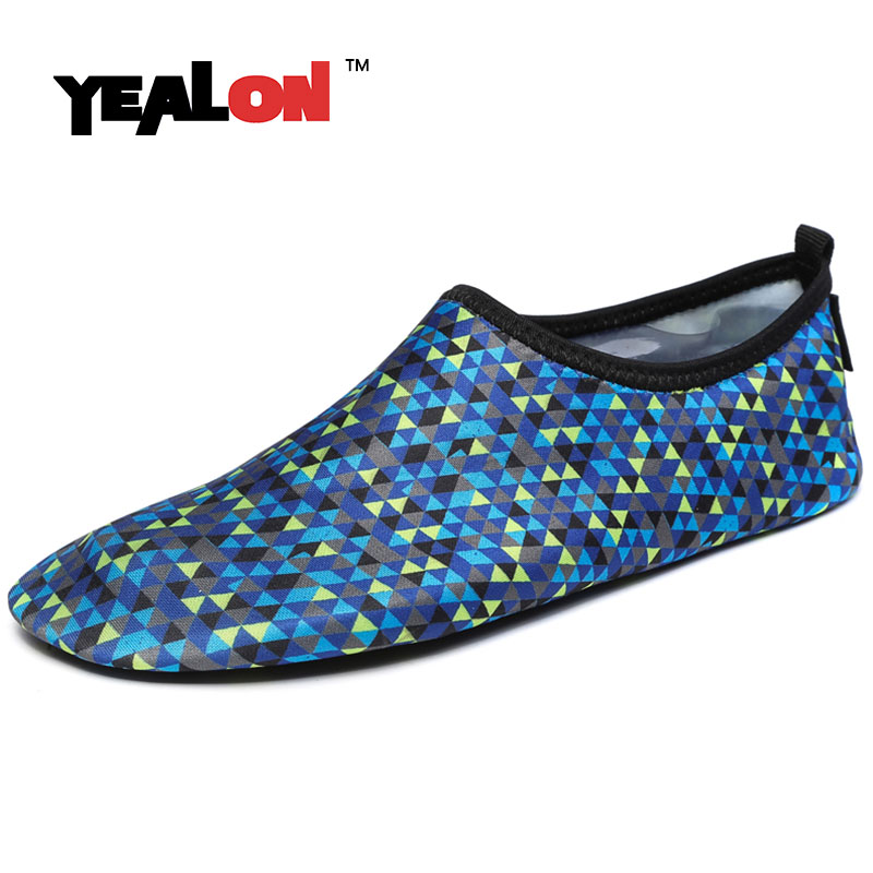 Yealon yoga shoes women girls sport shoes sneakers comfortable cross training sports men swimming shoes beach