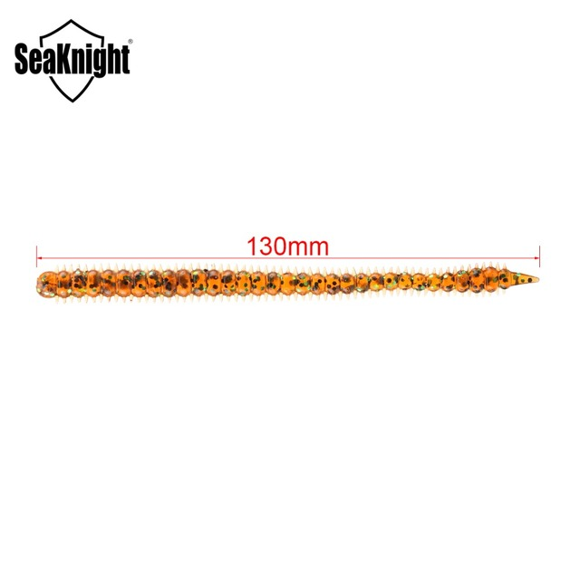 SeaKnight Soft Lure SL009 8pcs Assorted Color