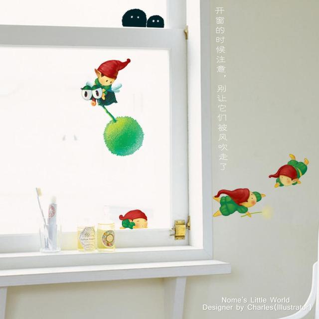 Little Pixie Leprechaun Wall Sticker