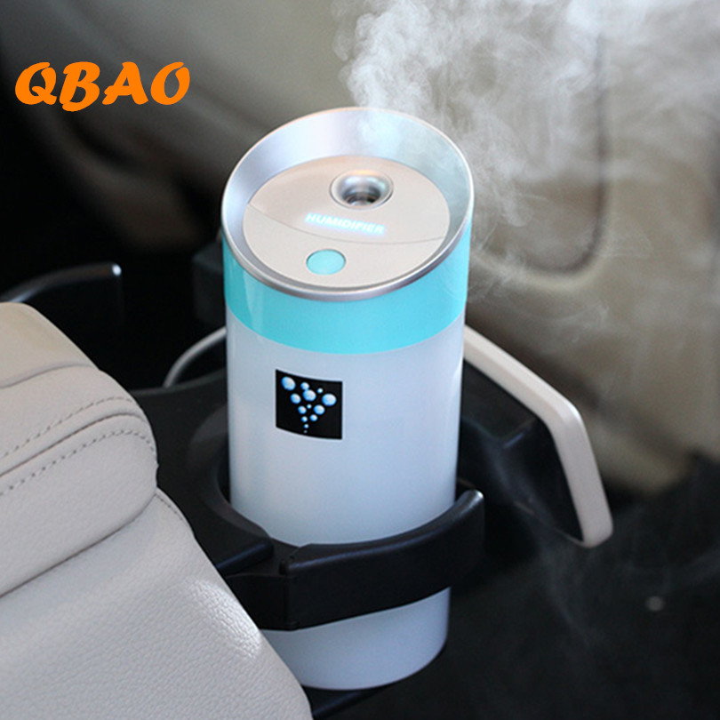 Led Aroma Diffuser Ultrasonic Humidifier USB 5V 2W 4Colors 300ML Ultrasonic Mist Maker Fogger Car Diffuser