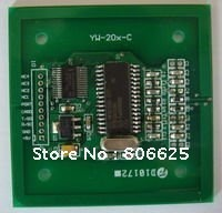 HF RFID module/ 13.56M/ISO14443A+ISO14443B+ISO15693/include antenna/rfid reader module +3 tags/YW204-C hf 3dv3 cnc v3 expansion module red