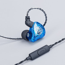 Tfz t1s monitor dinâmico fones de ouvido do telefone móvel universal fones de ouvido de alta fidelidade in ear