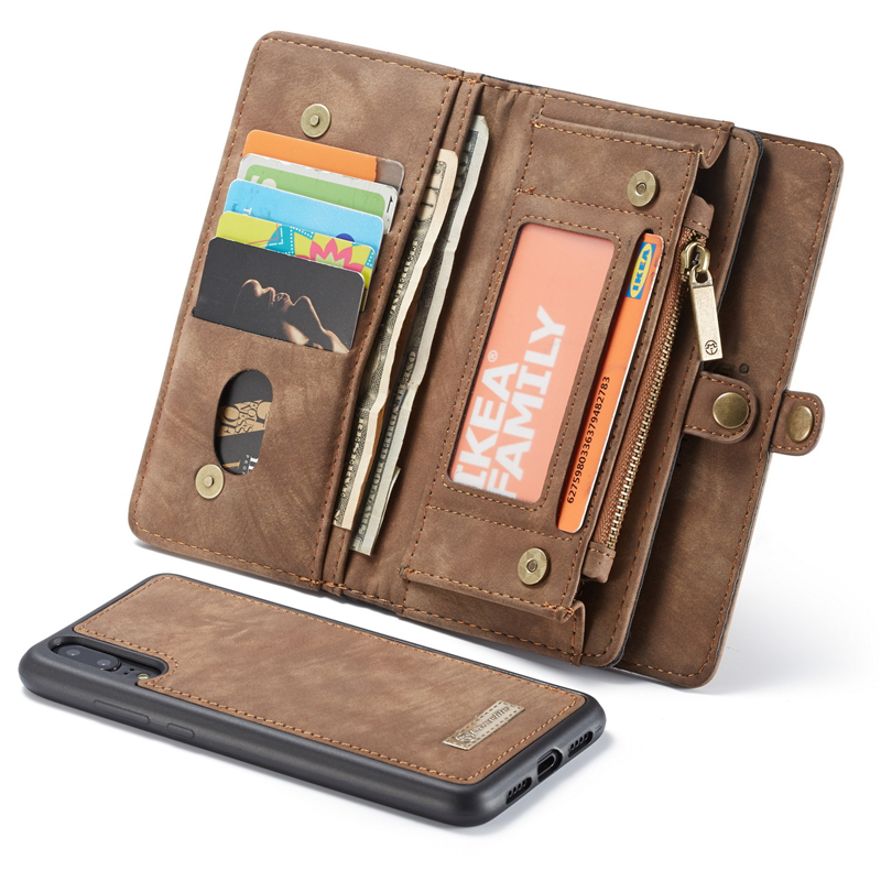 Retro Leather Magnetic Zipper Wallet Case For Huawei P20,P20 Pro + Credit Card Slots Multi-function Case Huawei P20 Wallet CaseRetro Leather Magnetic Zipper Wallet Case For Huawei P20,P20 Pro + Credit Card Slots Multi-function Case Huawei P20 Wallet Case