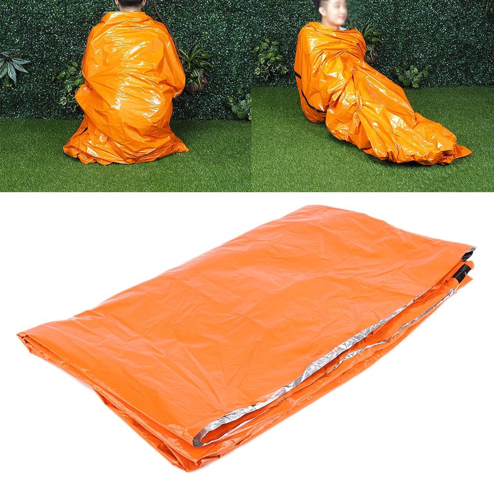 quality design bbfe0 9d9f4 Outdoor Schlafsäcke Notfall Schlafsack Tragbare Leichte Polyethylen-beutel  Schlafsack für Camping Wandern Reise