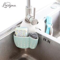 LMETJMA кухонная губка держатель для слива пшеничного волокна стойка для хранения губок корзина для мытья тряпки или туалетного мыла полка орг...