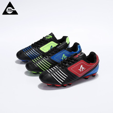 2017 New Men Soccer Shoes Professional Bright High Ankle Breathable Football Sneakers Original Big Size Sports Soccer Boots